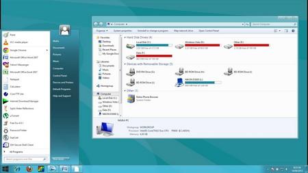 Lột xác để biến Windows 7 thành Windows 8