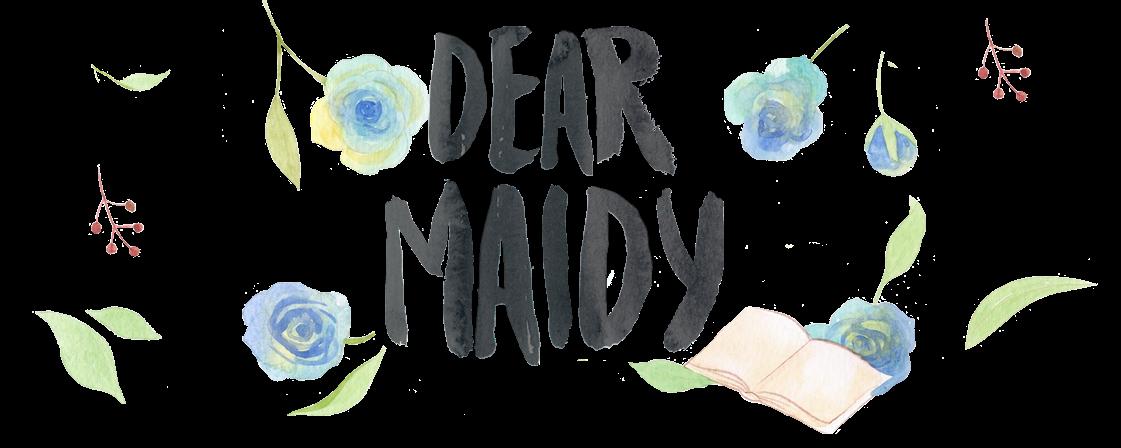 Dear Maidy – Livros, cultura pop & Life style