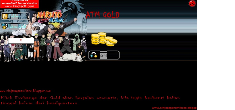 Cheat Atm Gold By Fahmi Villa But Is Not My Swf..I Just Edit ...