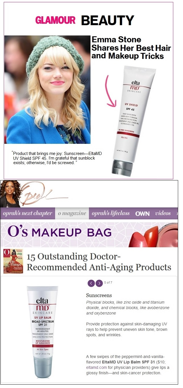 EltaMD Sunscreen featured in the Press