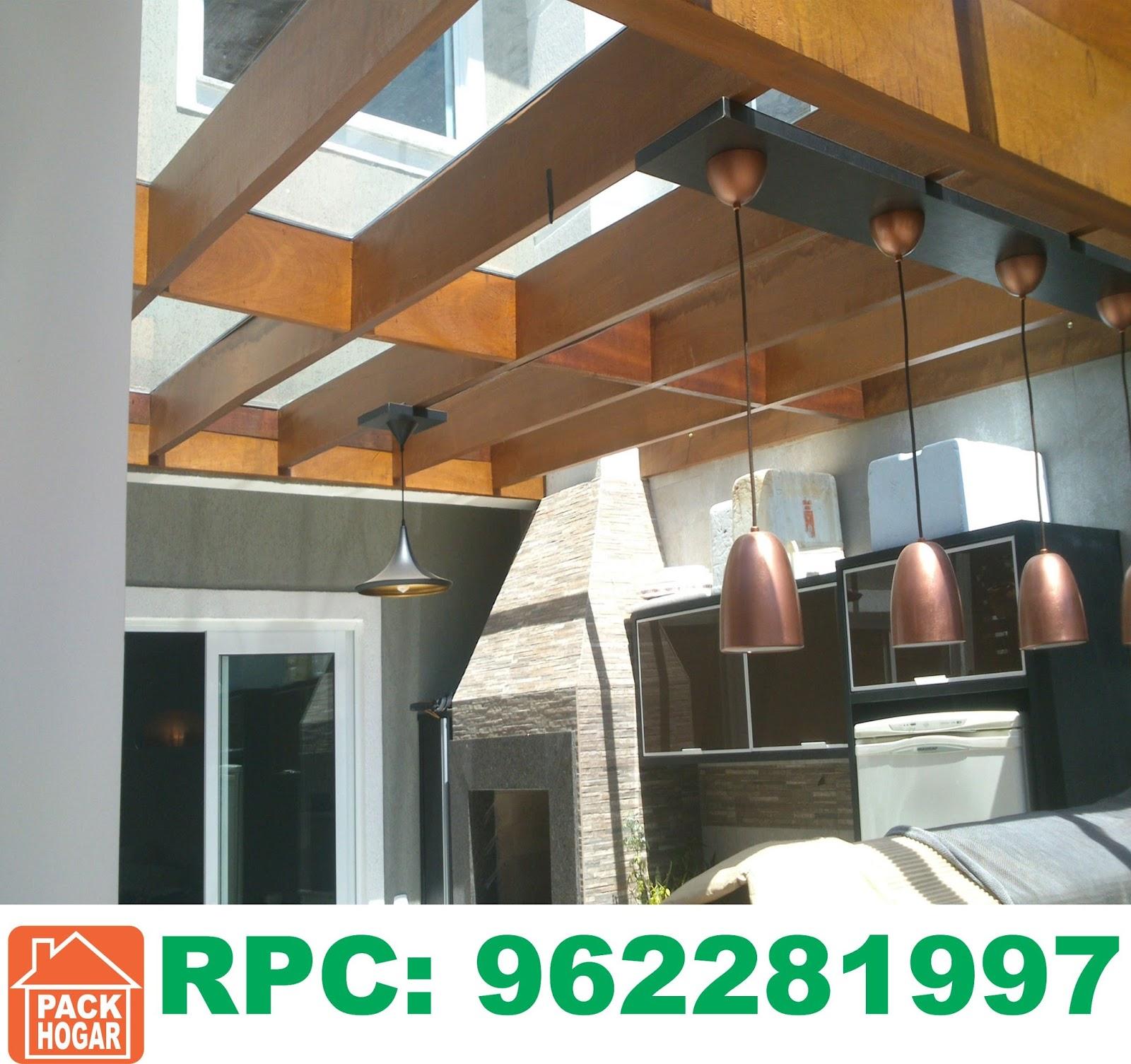 Pergolas sol y sombra techos de madera lima for Techos modelos