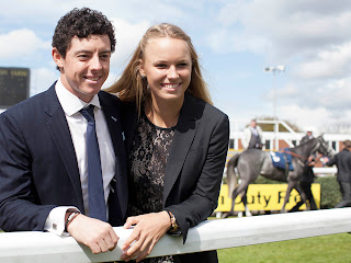 Rory McIlroy and Caroline Wozniacki 