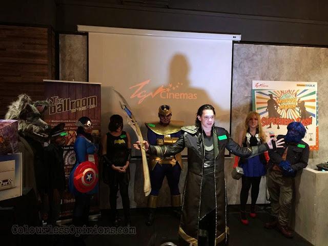 TGV Superhero Bash loki cosplay