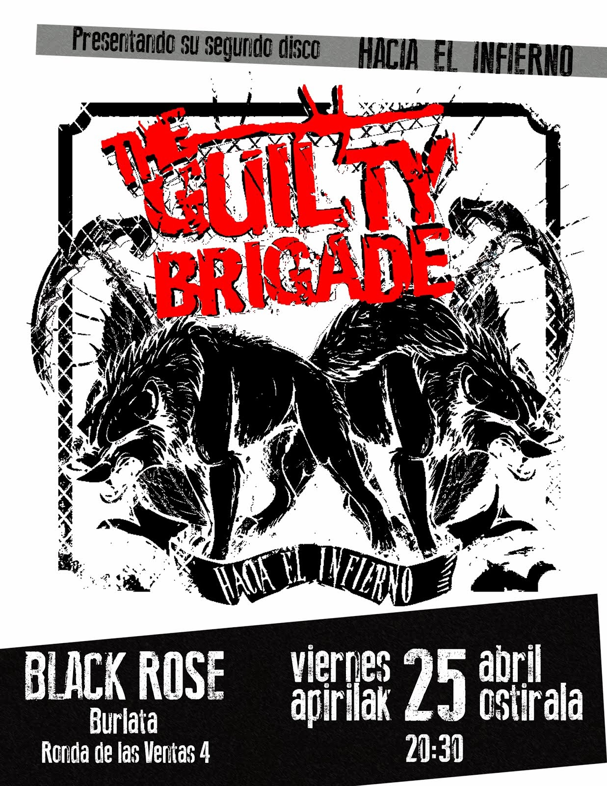 THE GUITY BRIGADE, VIERNES 25!!