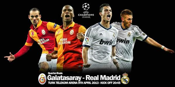 InfoDeportiva - Informacion al instante. VIDEOS, POSPARTIDO, VUELTA, CUARTOS DE FINAL, GALATASARAY VS REAL MADRID, UEFA CHAMPIONS LEAGUE, ONLINE