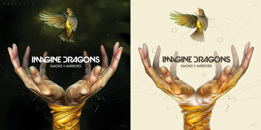 Imagine Dragons, Smoke and Mirrors, album cover