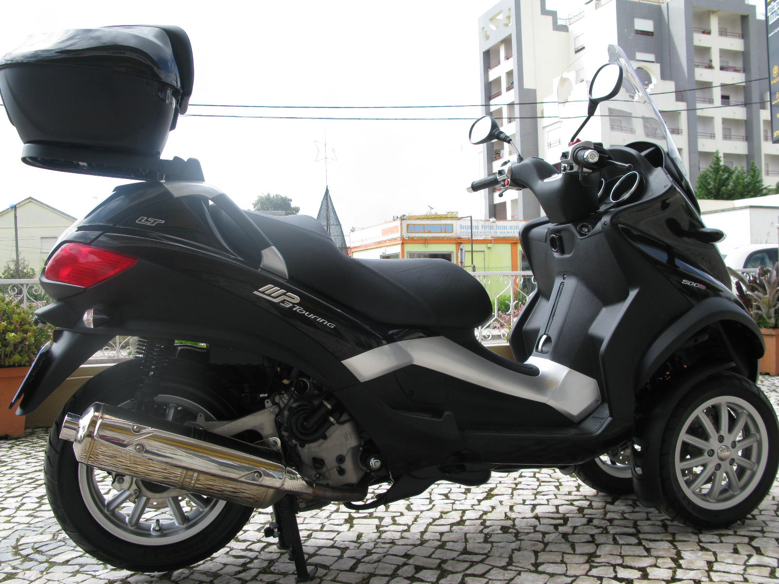loja das motos piaggio mp3 500 lt usada. Black Bedroom Furniture Sets. Home Design Ideas