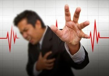 ciri-ciri serangan jantung