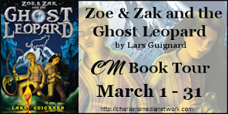 Zoe & Zak and the ghost leopard 1