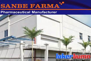 Lowongan Kerja PT Sanbe Farma Terbaru 2015