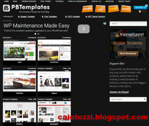 premium blogger template tempat download template gratis terupdate