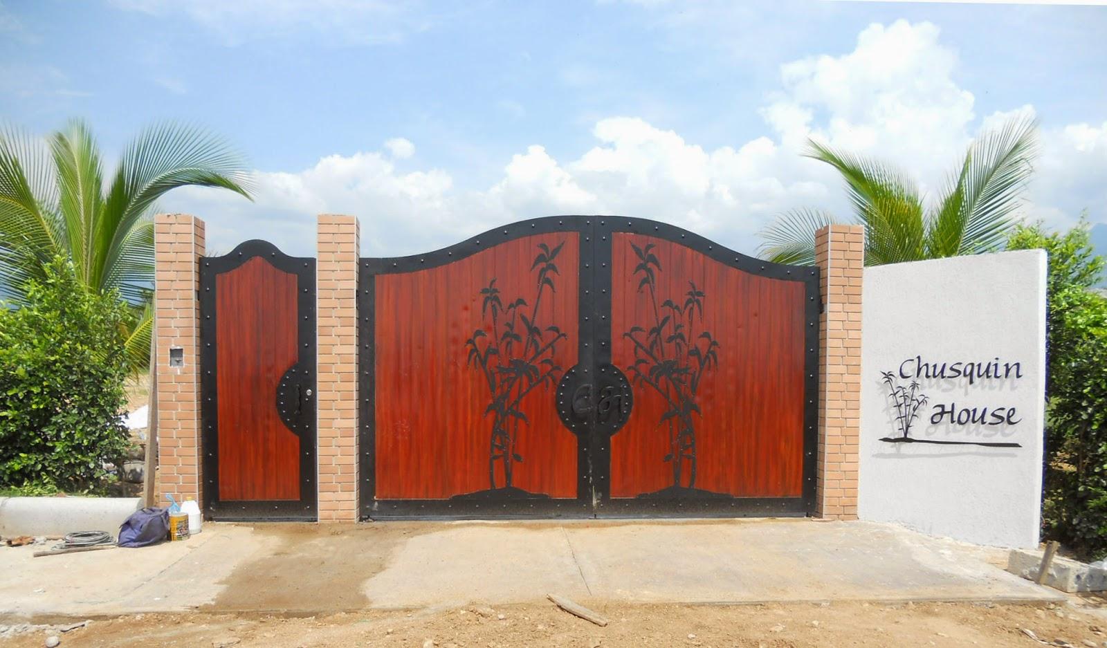 Porton clasico classic entry gates delgo for Portones de hierro forjado para casas