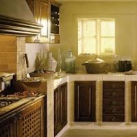 ... imbiancare le pareti di una cucina country o di una taverna rustica