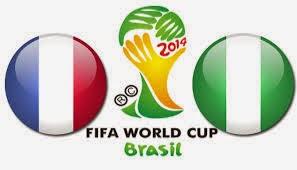 Perkiraan Hasil Akhir Pertandingan Babak Perdelapan Final Piala Dunia (30/06/14) : Prancis Vs Nigeria