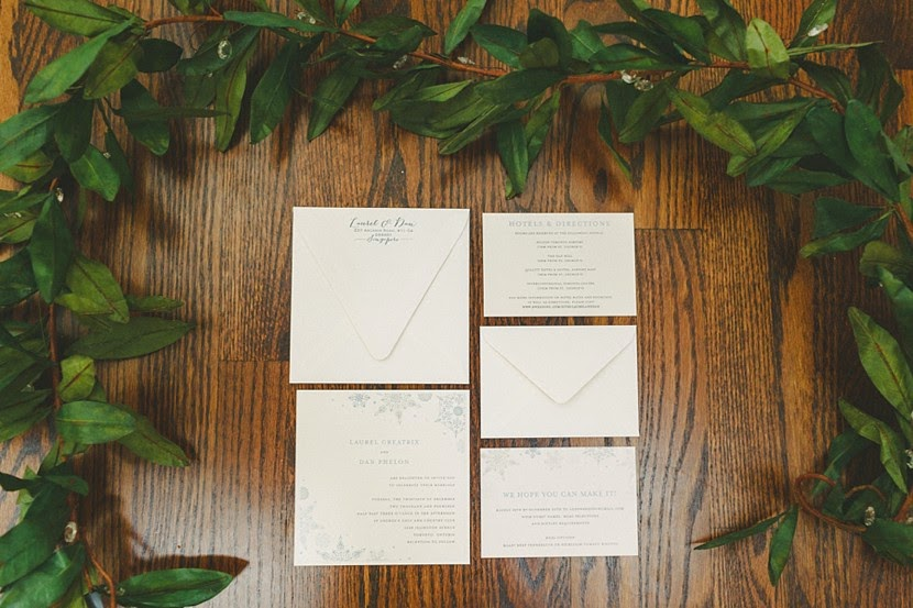 ontario wedding invitations photo