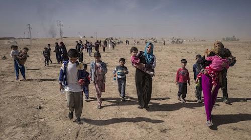ISIS realiza realocação em massa de civis