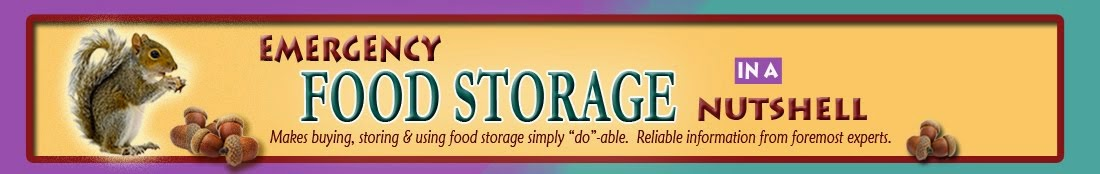 Emergency Food Storage in a Nutshell Recipes