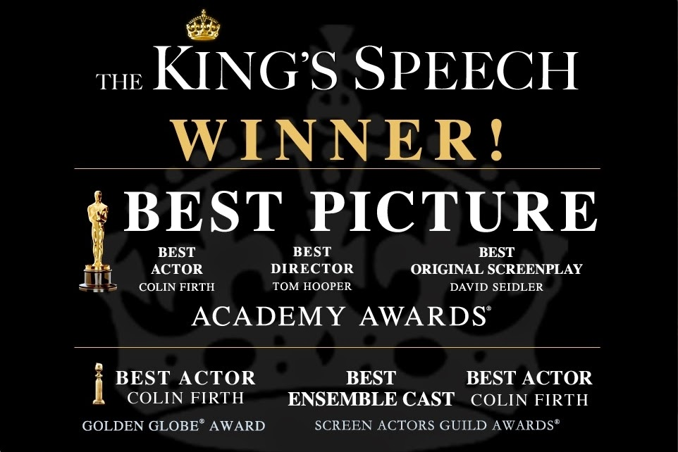 the kings speech awards