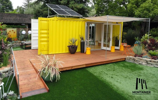 Casas contenedores montainer casas contenedores modulares - Casas hechas de contenedores ...
