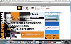 "Radio France/ Le Mouv' (""La Morinade"", par Daniel Morin ancien du ""Fou du Roi"")- 26 mars 2012"