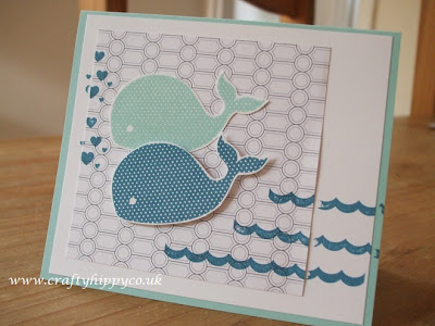 Oh, Whale! Stampin' Up!