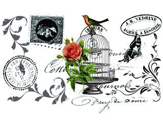 Mi Baul Del Decoupage Transfers Vintage - Vintage-imagenes