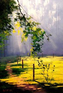 Pintura Naturalista y Moderna en Espatula