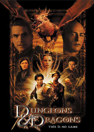 Poster Of Dungeons & Dragons In Dual Audio Hindi English 300MB Compressed Small Size Pc Movie Free Download Only At worldfree4u.com