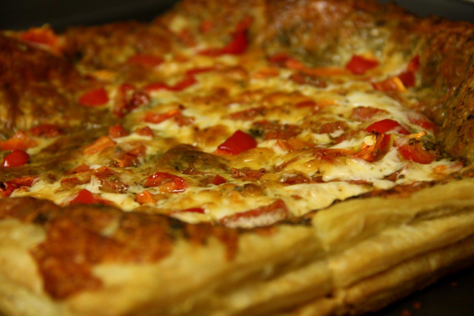 Phyllo Pesto Pizza w/Smoked Mozzarella (contains dairy, contains ...