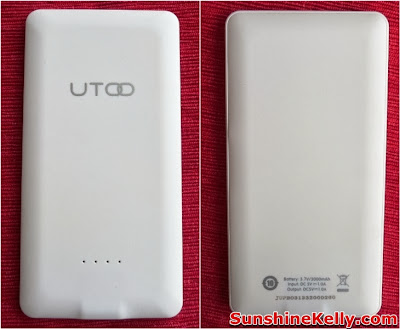 UTOO, UTOO S2 Power Bank, Power Bank Review, Slim & Smart, UTOO Power Bank