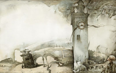 Yuri Laptev 1962 | artista surrealista rusa