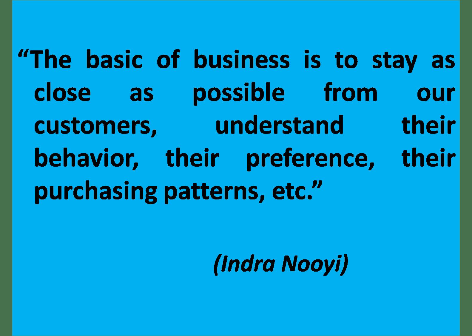 leadership style of indra nooyi