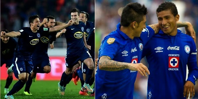 Cruz Azul vs Auckland City en vivo