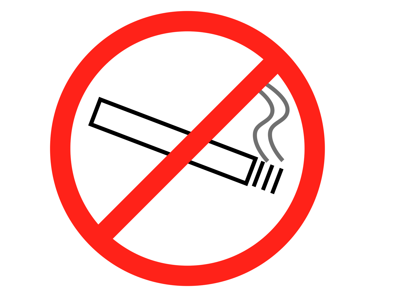 no smoking ppt template ppt backgrounds templates