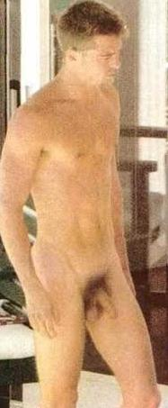 Brad Pitt Pillado Desnudo