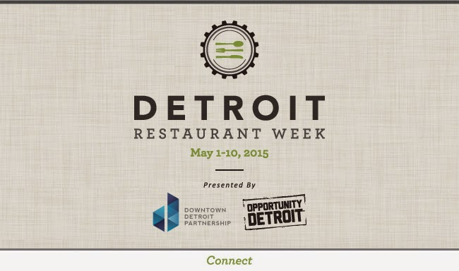 Detroit Restaurant Week  Menu