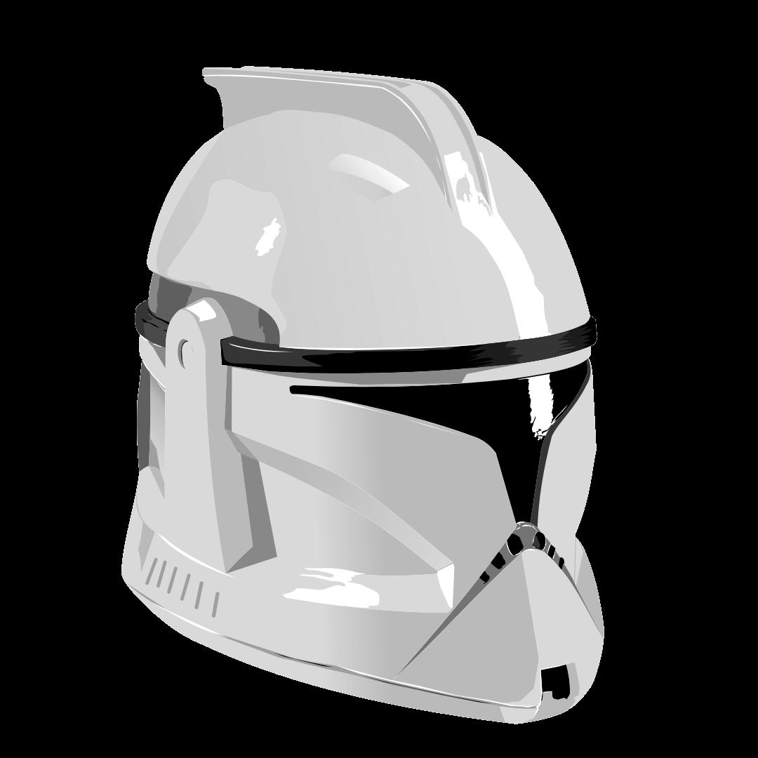 Clone Trooper Helmet Vector MF's Stuff