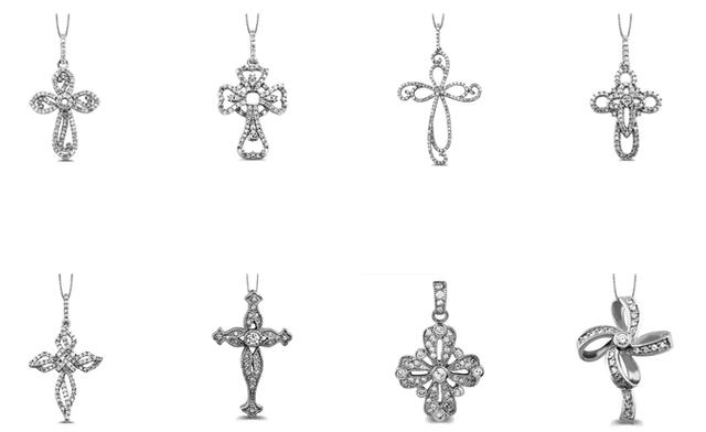 Diamond Crosses