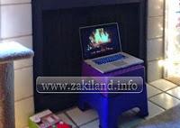 Utiliser son ordinateur pour se réchauffer استعمال الحاسوب للتدفئة