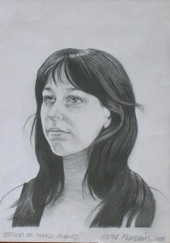 Retrato de Pamela Avalos.