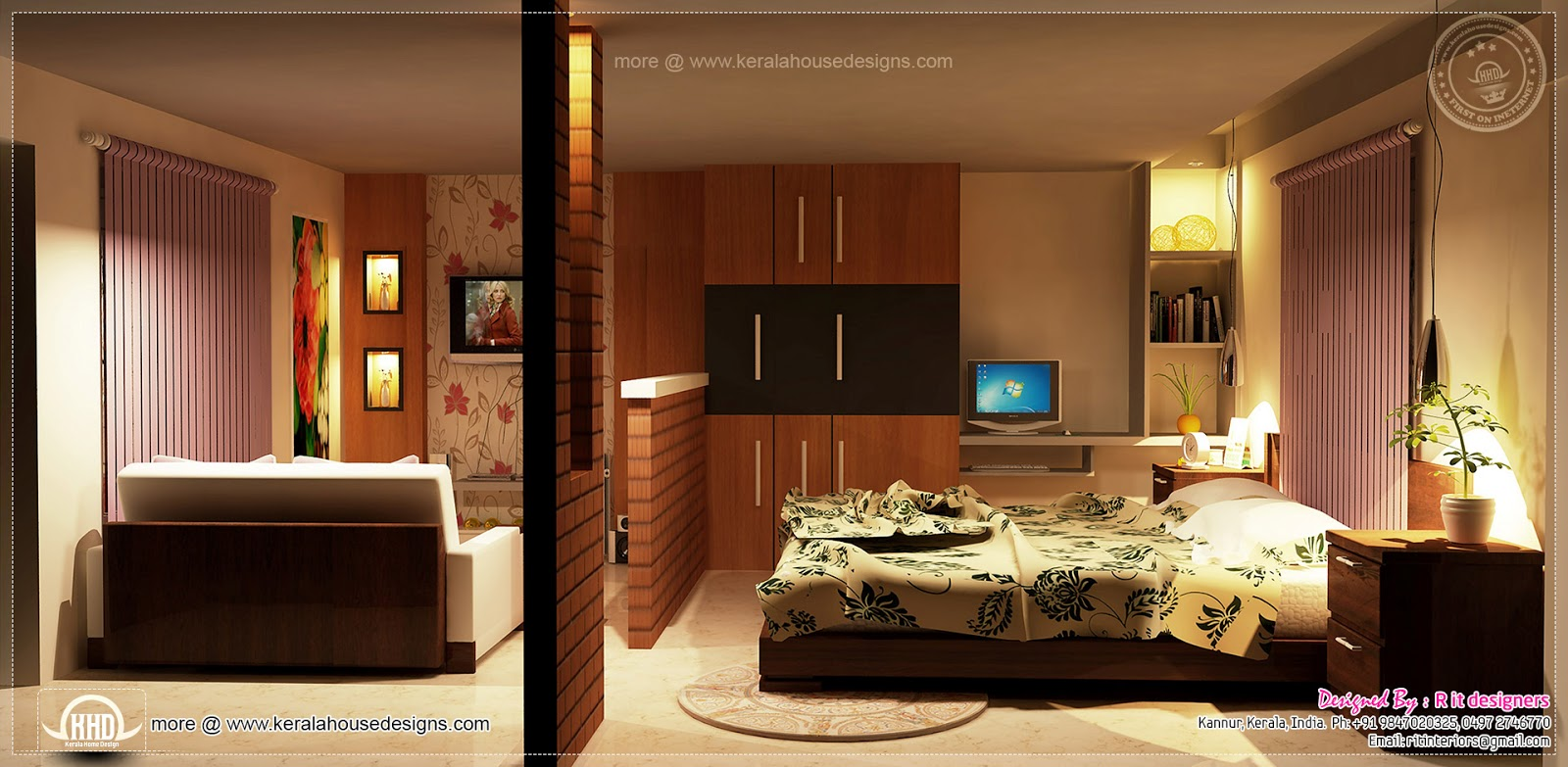 Home Design Ideas Interior: Home Interior Designs By Rit Designers