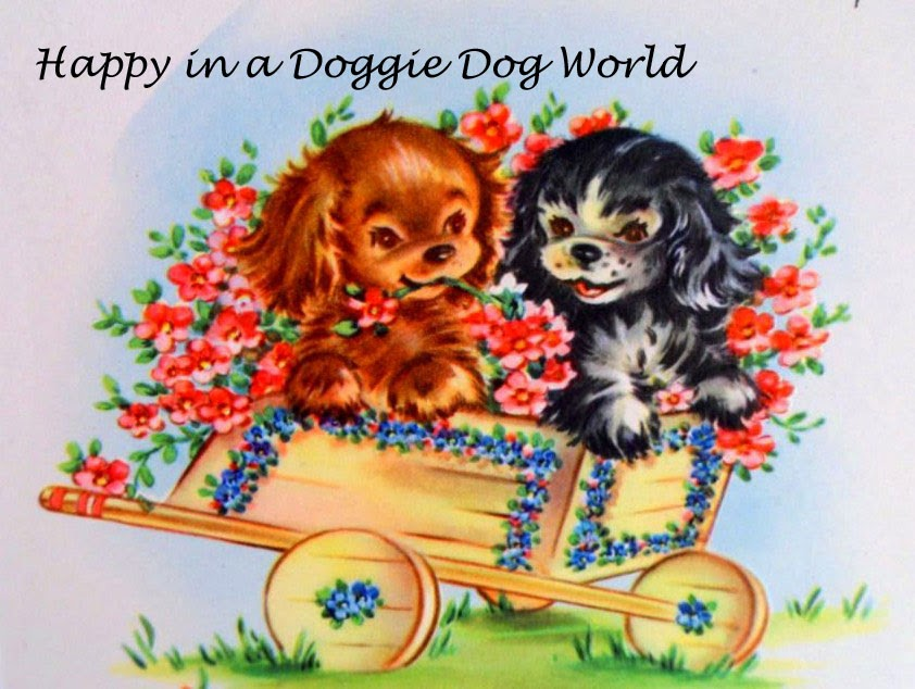 Happy in a Doggie Dog World