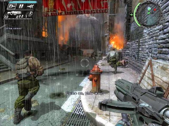 Скриншоты игры Timeshift.