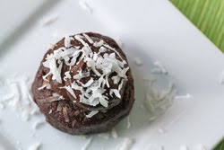 Raw Chocolate Coconut Cupcakes