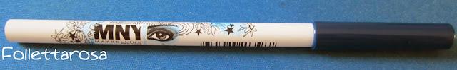 matita blu oltremare occhi