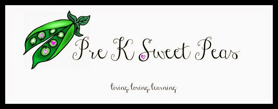 Pre K Sweet Peas