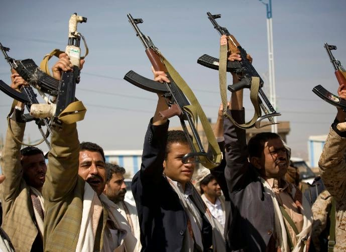 الحوثيون يصدرون ما سمي بالاعلان الدستوري من قصر الرئاسة في صنعاء