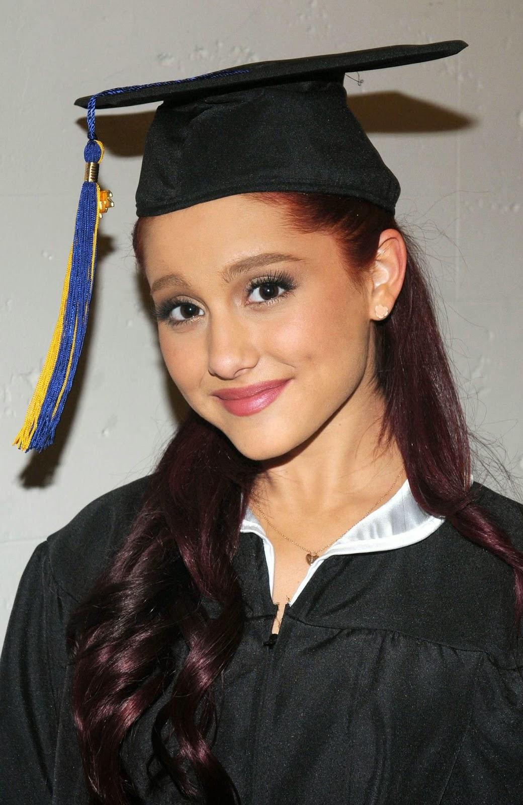 graduation hairstyles under cap}