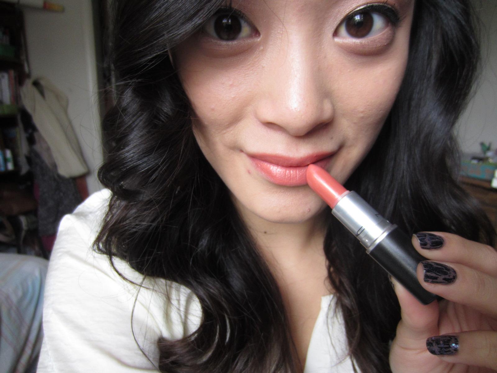 Fashion, Makeup and More: Review: Mac Cream sheen Lipstick