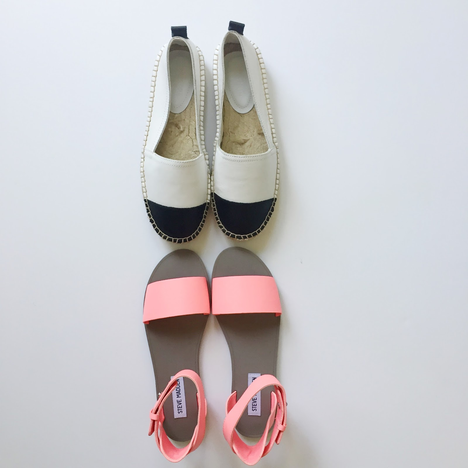 Merrick's Art | Espadrilles and Neon Sandals